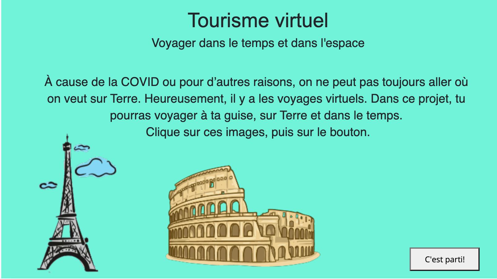 Tourisme virtuel