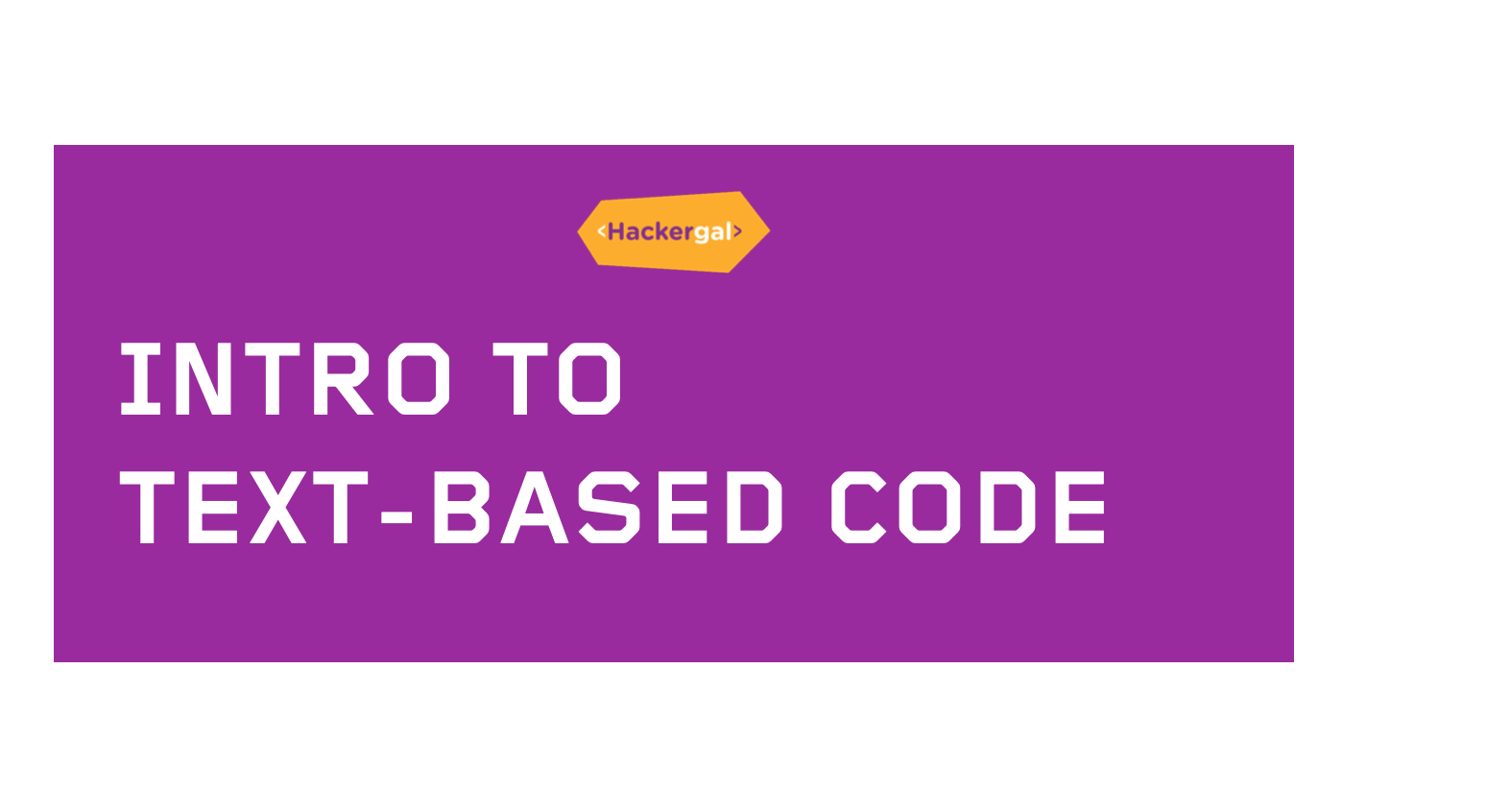 Intro to Code Template