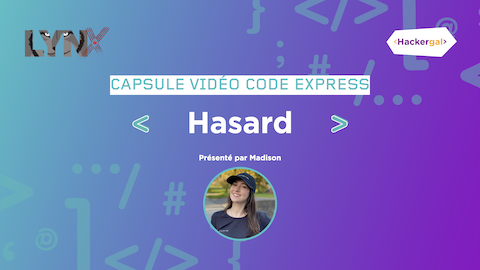 HASARD FR