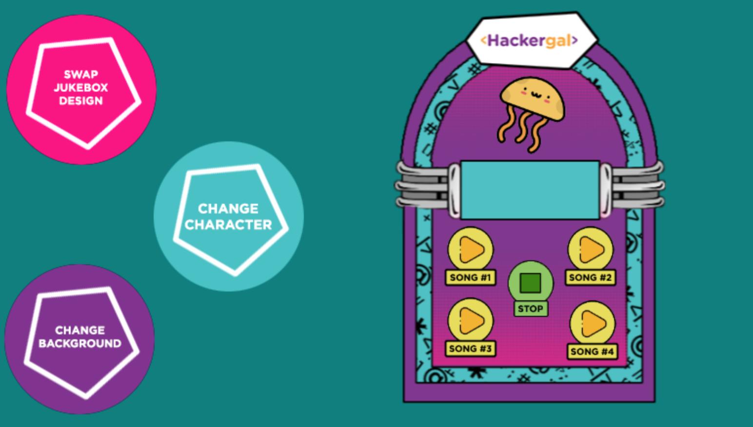 The Hackergal Jukebox