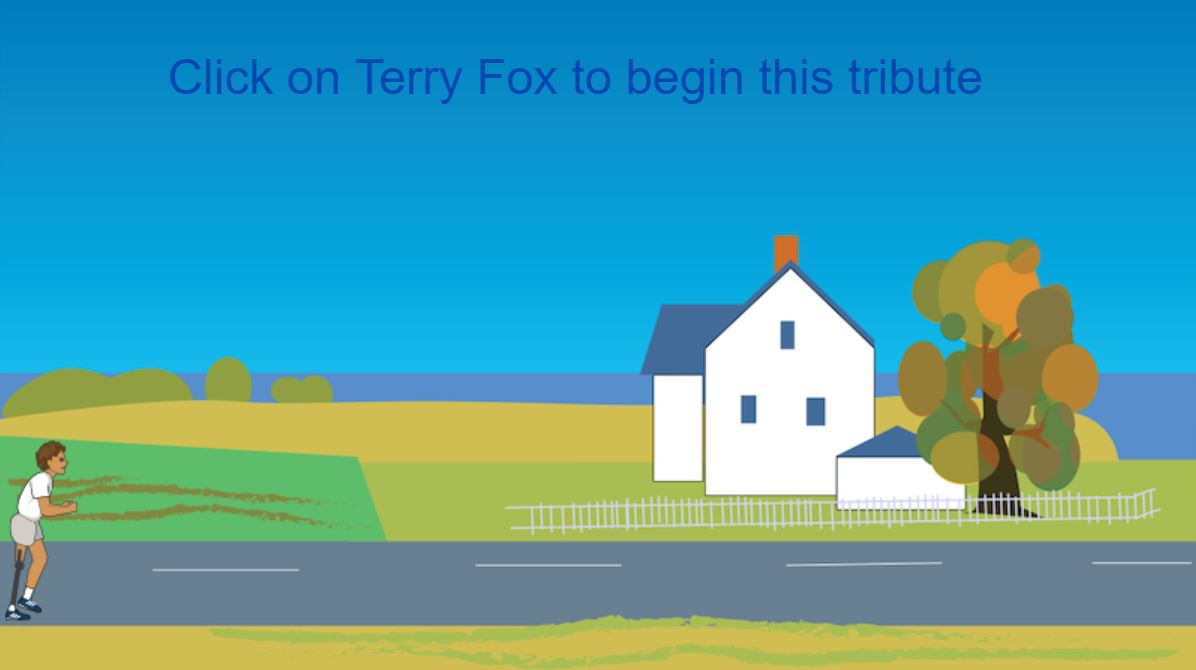 Tribute to Terry Fox - Starter Project